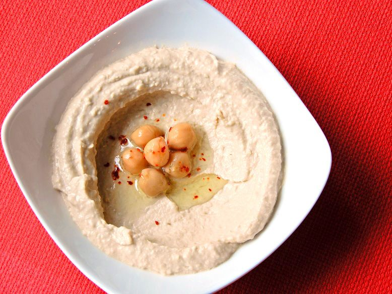 ひよこ豆のペースト(Hummus)
