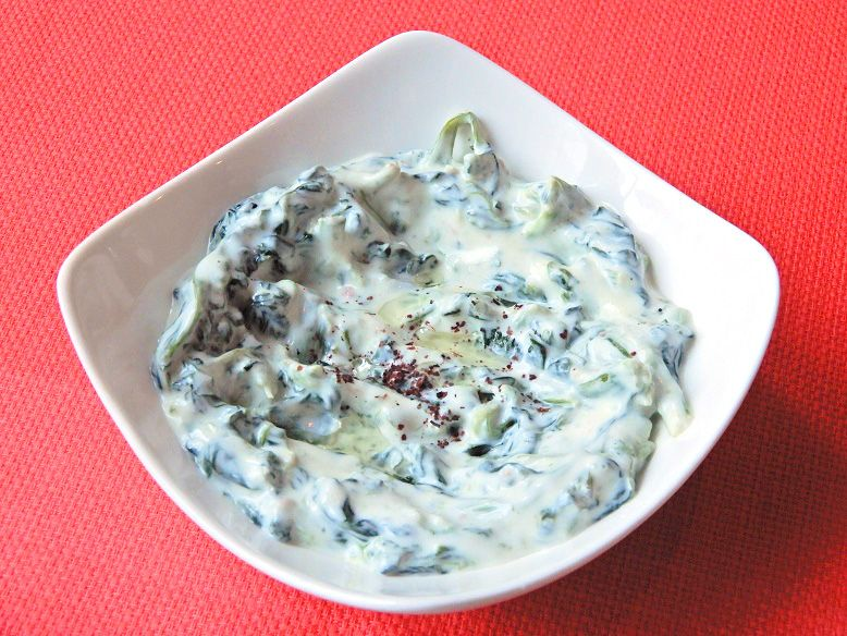 ほうれん草とヨーグルトペースト(Spinach&Yogurt)