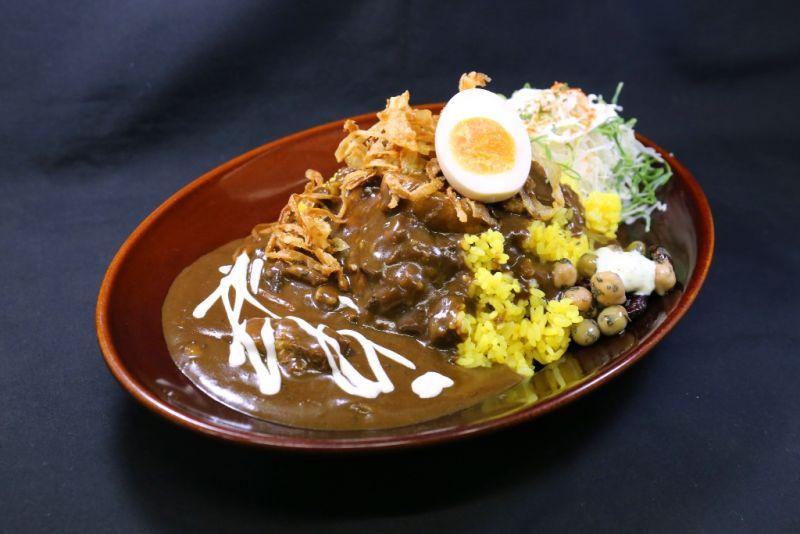 黒い肉カレー弁当(ポーク)
