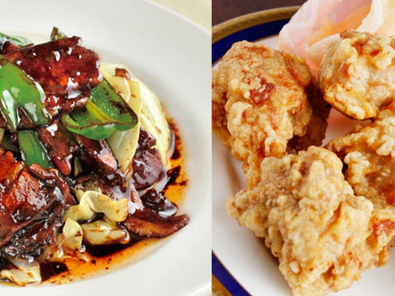 人気おすすめ2.「回鍋肉&唐揚げ(3個)」