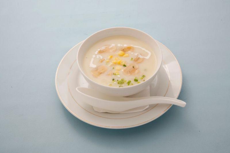 マッシュルームコーンスープ