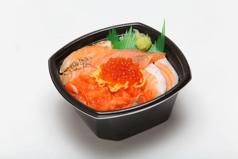スペシャルサーモン丼