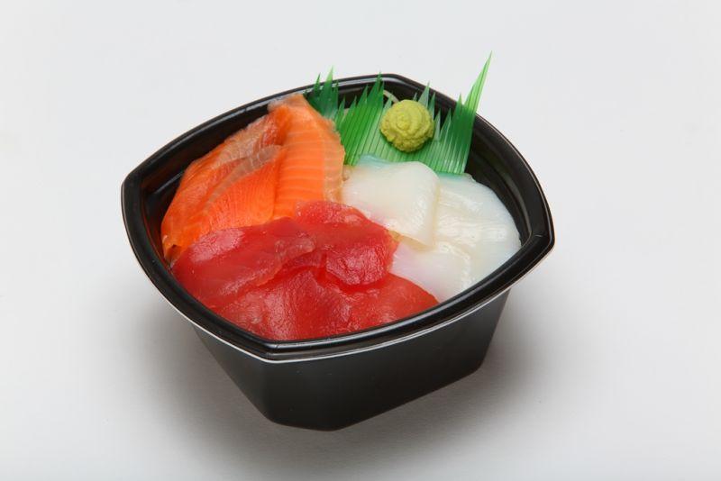 マグロ・いか・サーモン丼