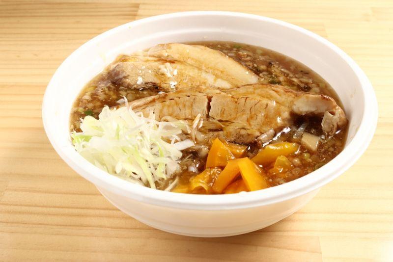 角煮肉味噌あんかけ丼