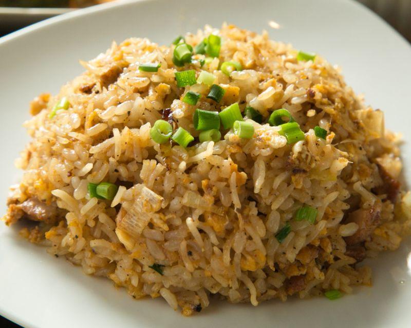 カレー風チャーハン(Curry like fried rice)