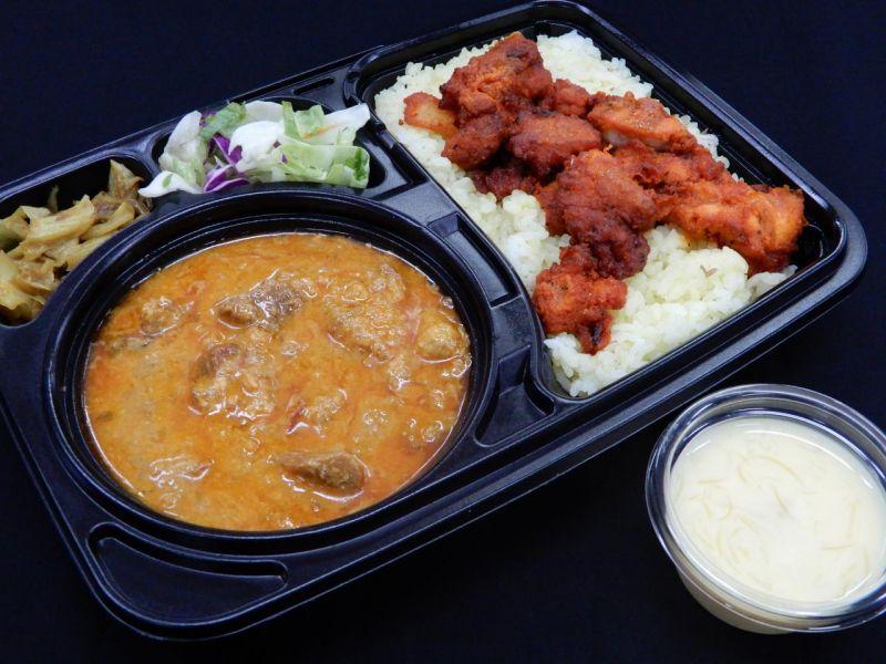 マトン弁当(Mutton Lunch box)