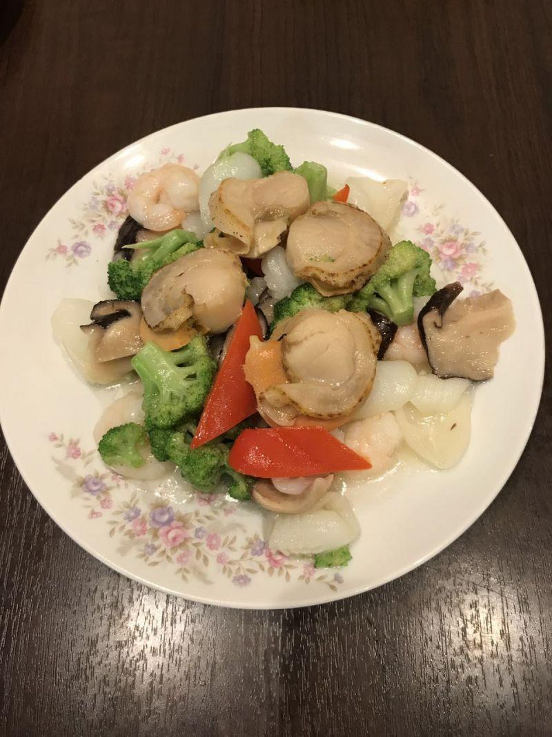 海鮮野菜炒め