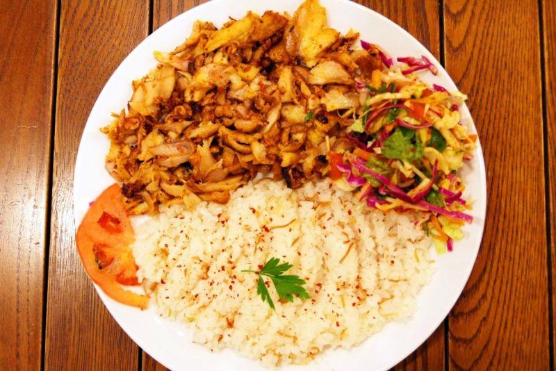 Kebab Rice MIX (chicken&Beef)(Mサイズ)