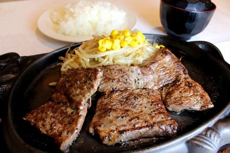 【ご飯大盛り無料キャンペーン中!】サービスステーキ