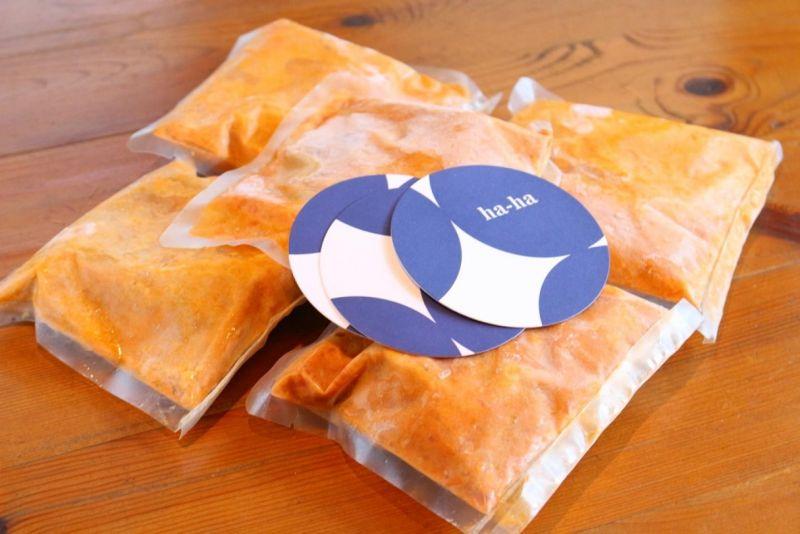 冷凍ワタリガニトマトクリームソース 10パック入り