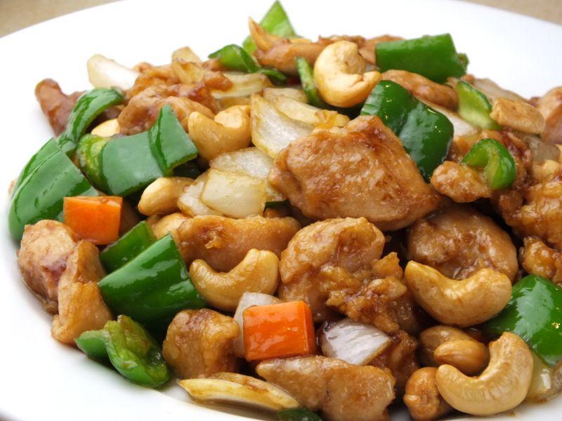 鶏肉とカシューナッツ炒め(ディナー限定)