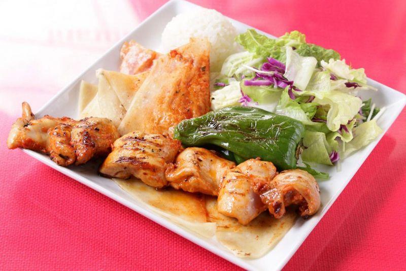 チキンシシケバブ(Chicken Shish Kebab)