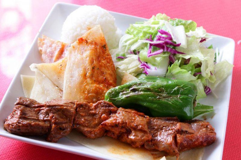 ラム肉のシシケバブ(Lamb Shish Kebab)