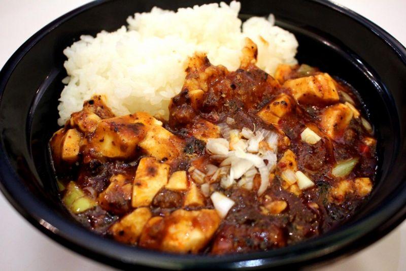 【ご飯大盛り無料キャンペーン中!】麻婆豆腐丼
