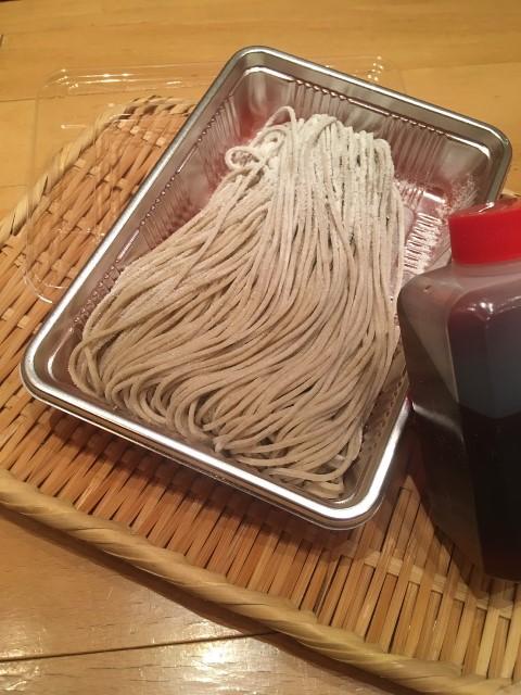 生蕎麦折り(一人前・つゆ付き)