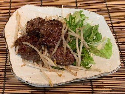 牛ハラミ炙り焼(特製BBQソース)