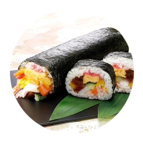 【2/3受取限定】ととや特製 海鮮太巻き(1本)