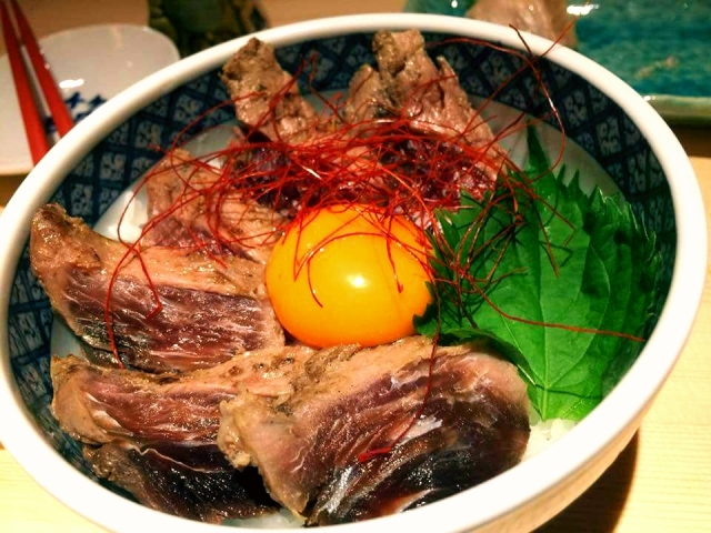 海鮮ロースト丼(炙りまぐろ丼)