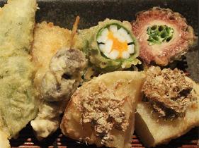 天ぷら盛り合わせ5品