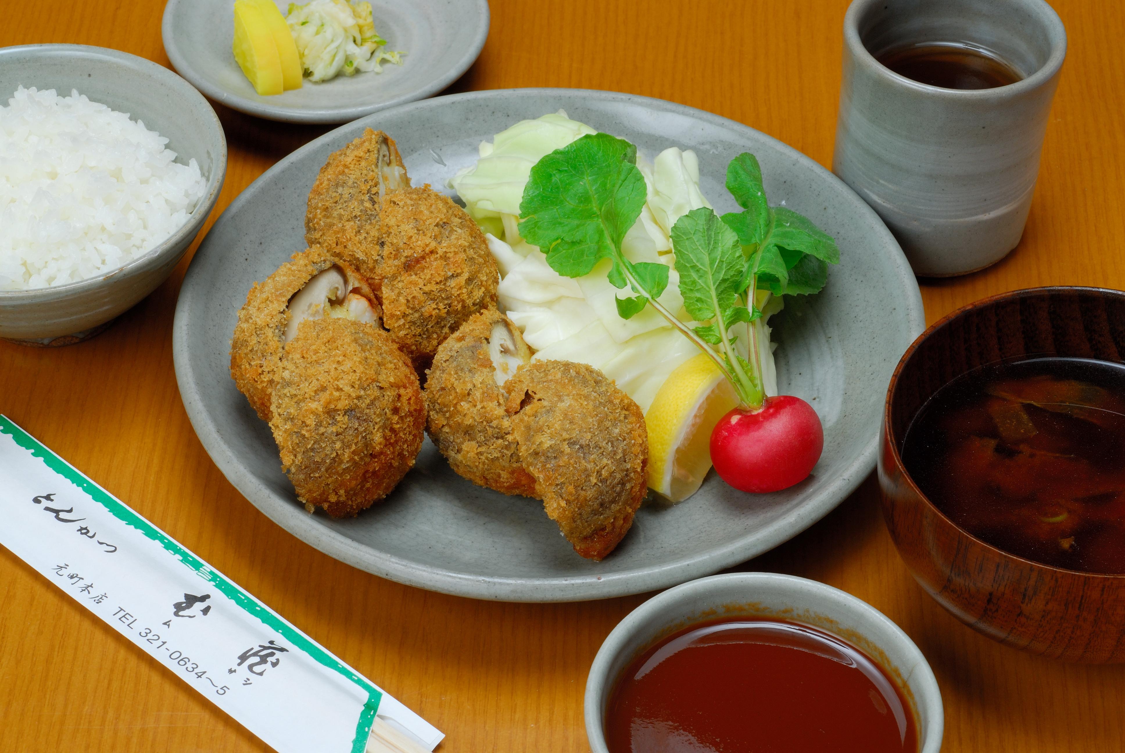 ゑび椎茸定食
