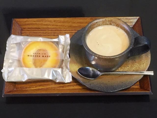 コーヒー&洋菓子セット