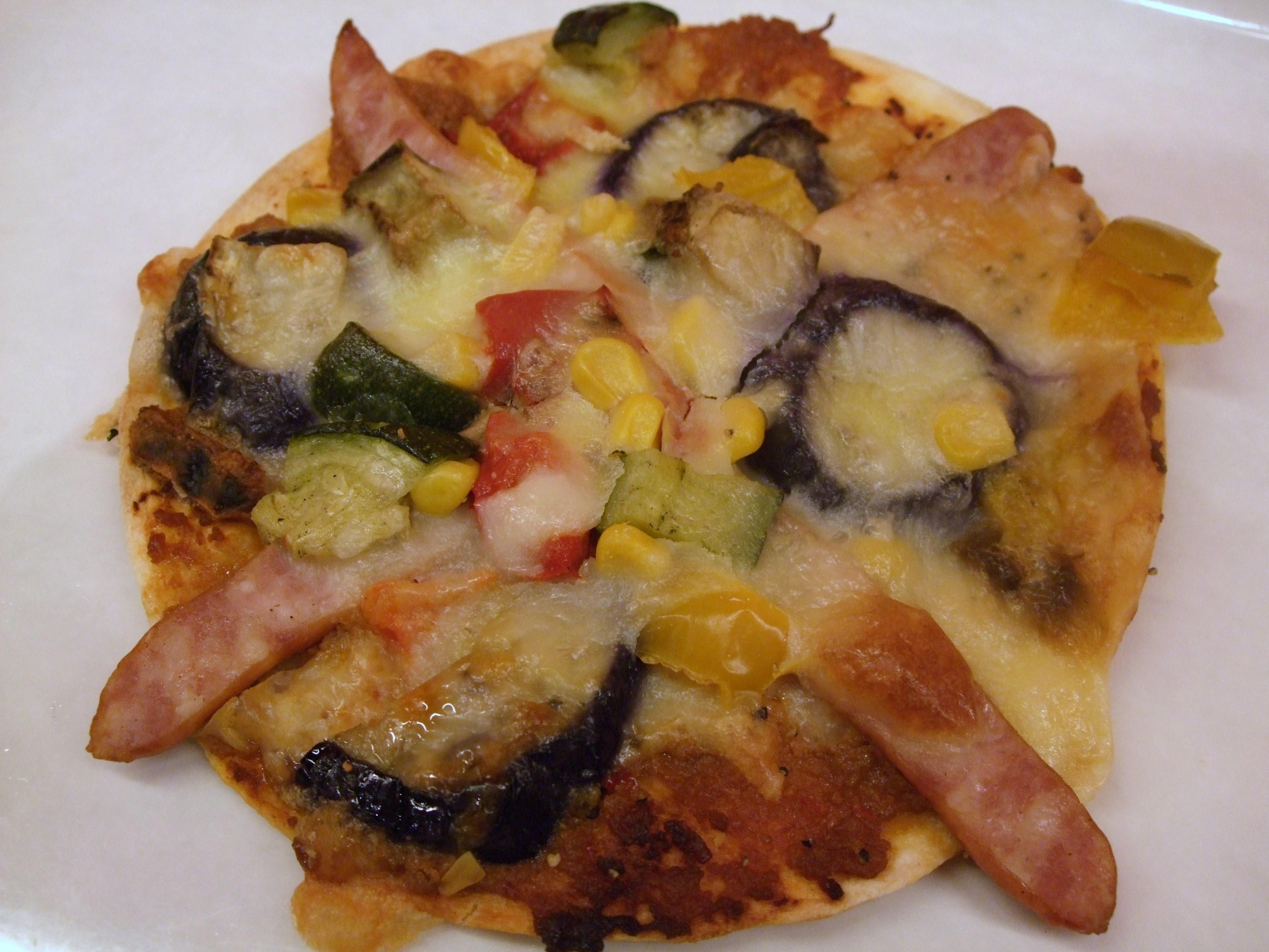 トルティーヤピザ