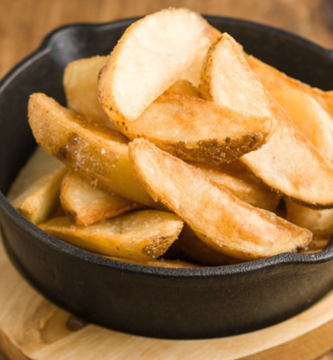 POTATO WEDGE + SALT