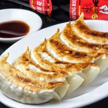 人気No.1!三元豚焼き餃子 手作り!(5個) Fried Dumplings 5pc.