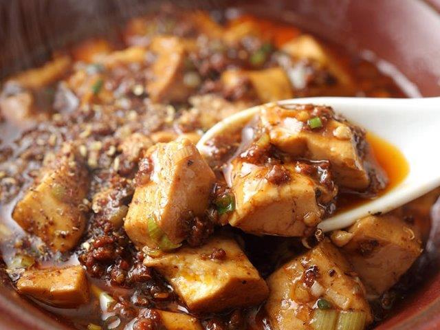 四川麻婆豆腐(辛口) Szechuan Bean Sauce Tofu