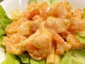 ぷりぷり海老マヨ shrimp with mayonnaise