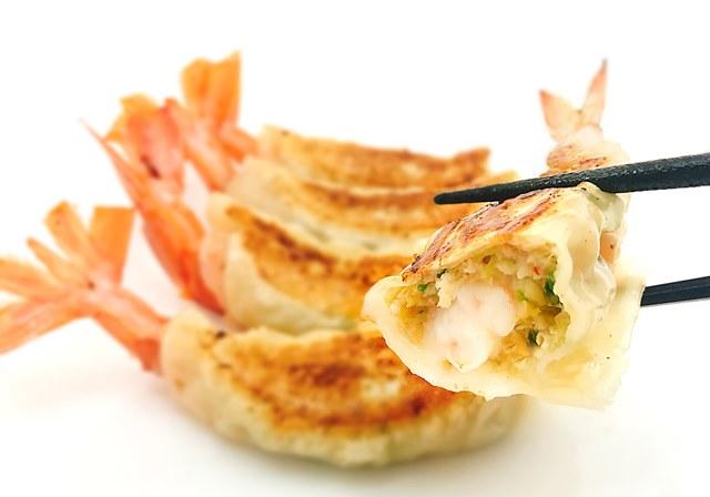 海老餃子(焼き、1人前:4ヶ)