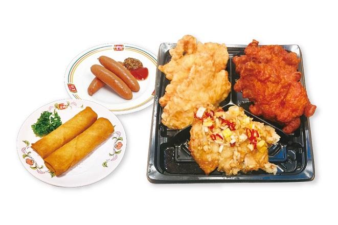 いいとこ鶏コンボセットA (10時~17時限定 ソフトドリンク1本サービス!来店時に指定)