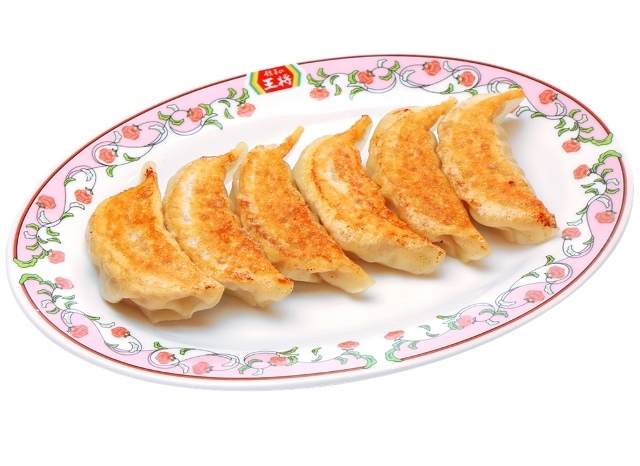 にんにくゼロ餃子(焼き、1人前:6ヶ)