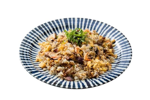 京漬物の和風炒飯