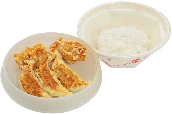 餃子・唐揚弁当