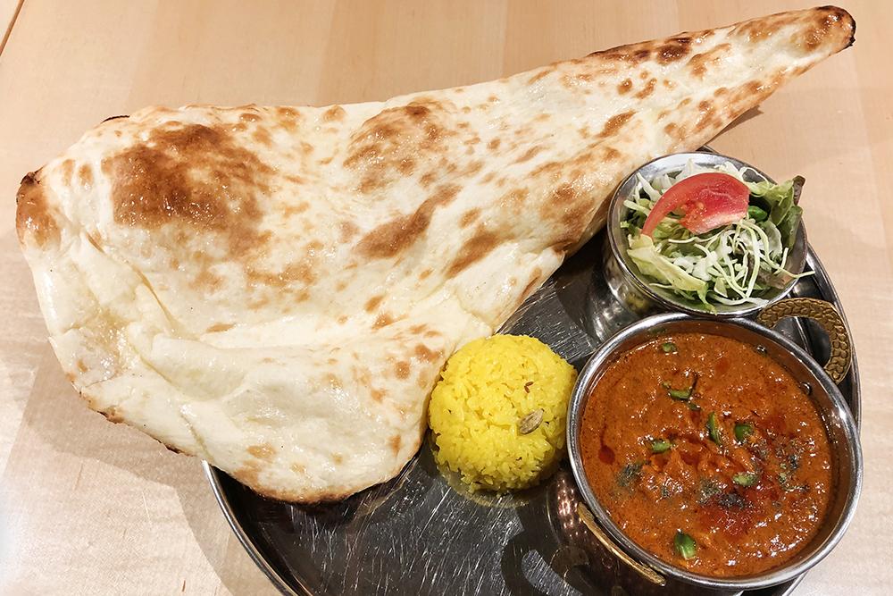 サムラートカレーセット/ Samrat Curry Set (ナン又はライス付き/ With Nan or Rice)