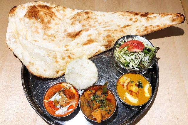 3種類カレーセット / 3 Curry Set