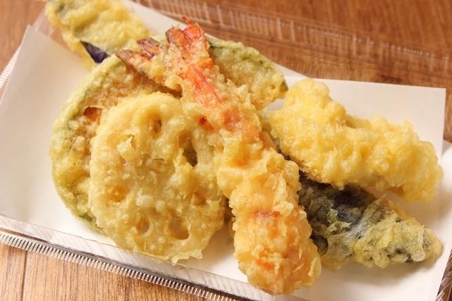 おすすめ天ぷら5種盛り