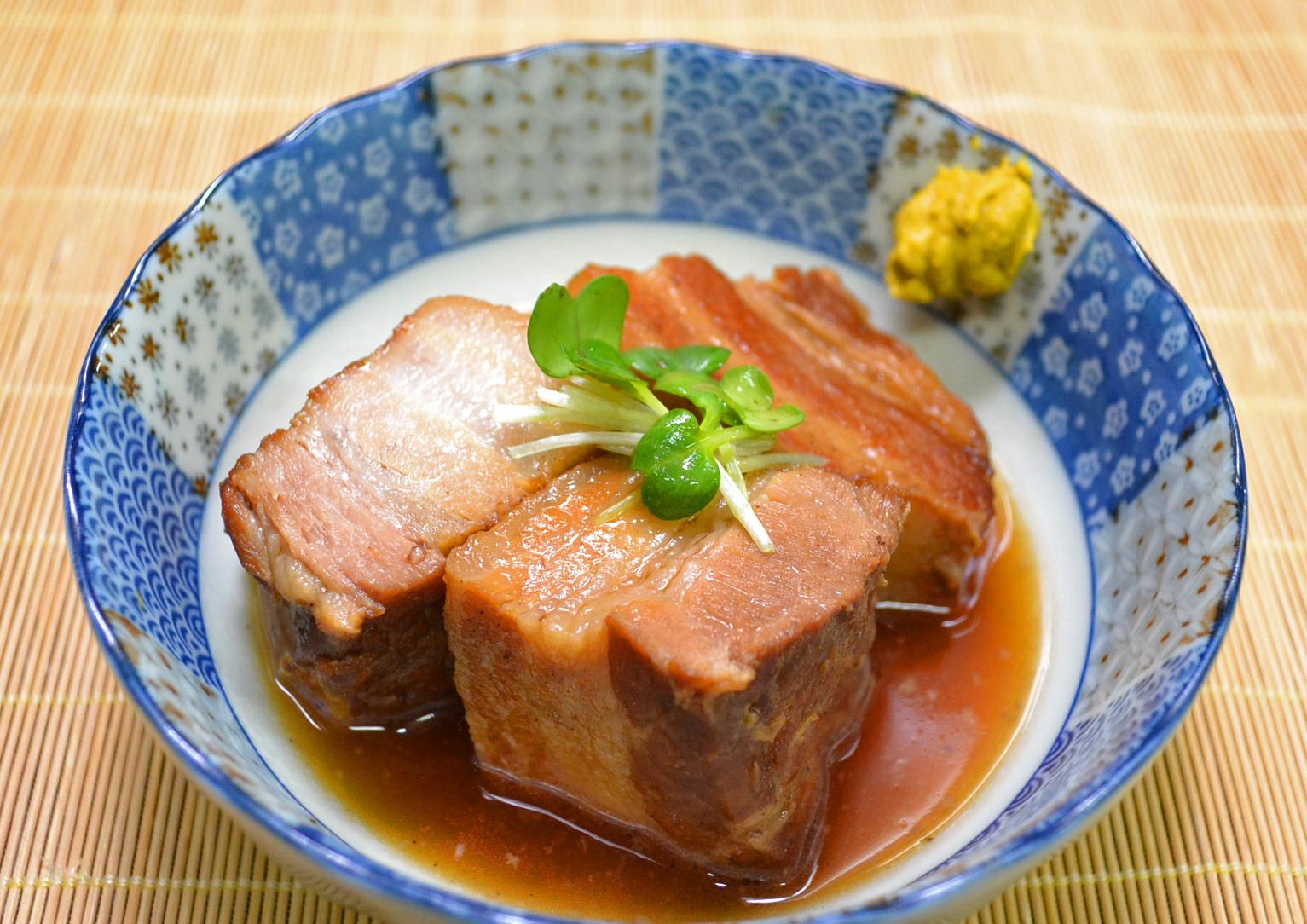 四元豚の角煮