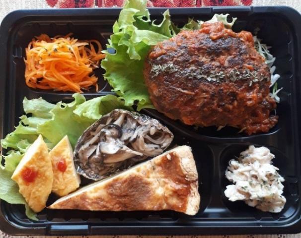 お惣菜BOX ハンバーグ
