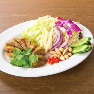 チェンマイハーブソーセージ/Chaing Mai Style Pork&Harb Sausages
