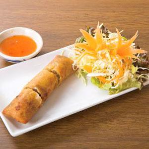 海老春巻き/Fried Shrimp Spring Roll