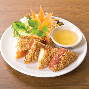 海老トースト/Fried Minched Shirimp on Toast