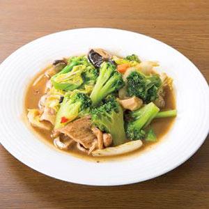 豚肉入り五目野菜炒め/Stir-Fried Vegetable and Pork