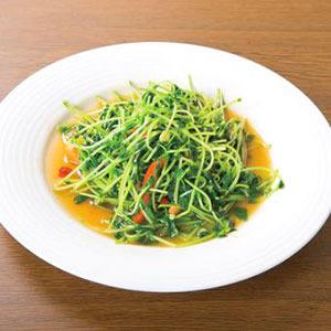豆苗炒め/Stir-Fried Sugar Pea Vine
