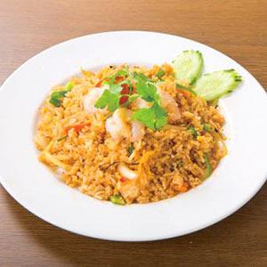 トムヤムクンチャーハン/Fried Rice With Tom Yam Kun