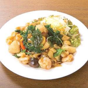 海老と春雨炒め/Stir-Fried Shrimp and Vermicelli
