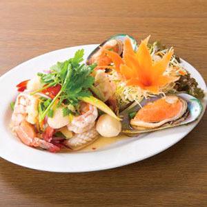 シーフードサラダ/Spicy Seafood Salad