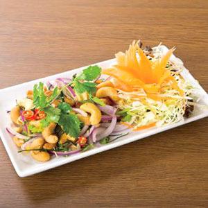 タイ風ハーブ入りカシューナッツサラダ/Cashew Nuts with Herb
