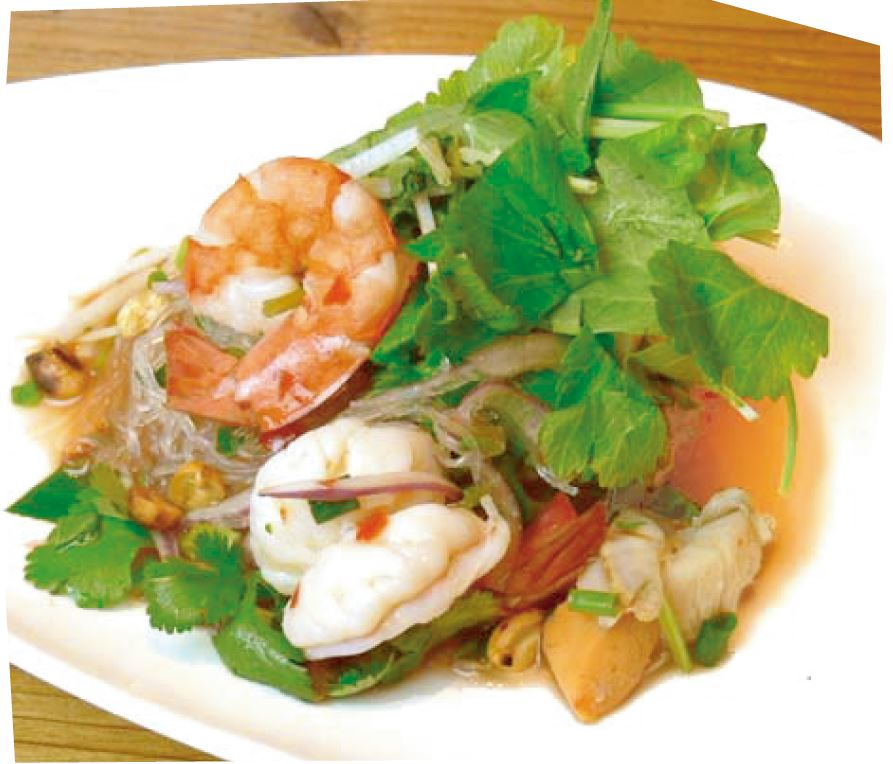 春雨の海鮮サラダ(ヤム・ウンセン)